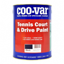 Coo-Var Tennis Court & Drive Patio Paint